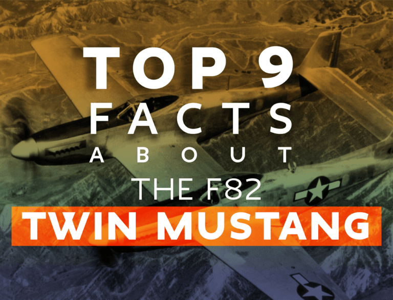 9 Top Facts About The F-82 Twin Mustang