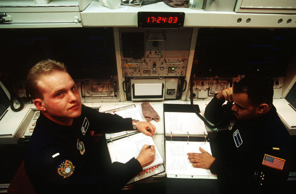 With REACT, the commander and deputy sit side by side with nearly everything they need to conduct day-to-day operations (including Emergency War Order procedures) at their fingertips.
