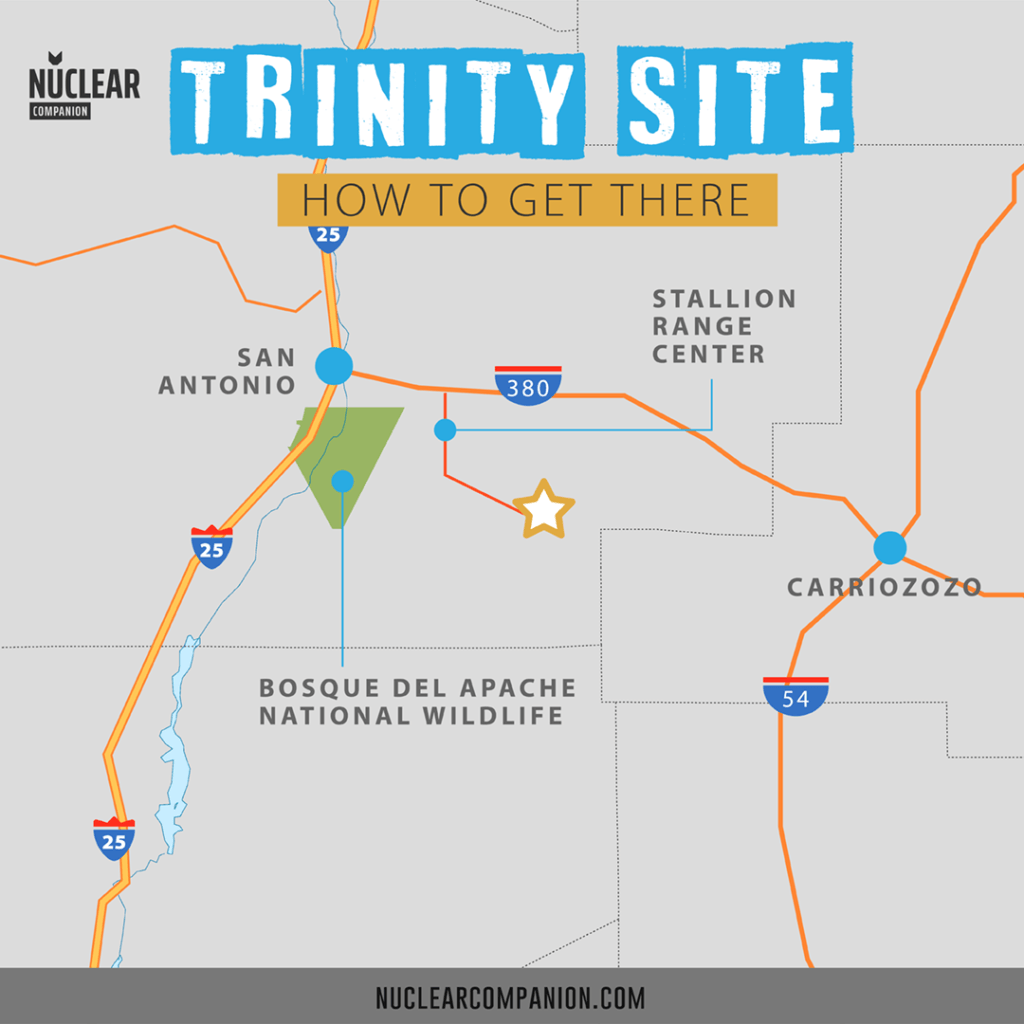 Trinity Site How to get there
