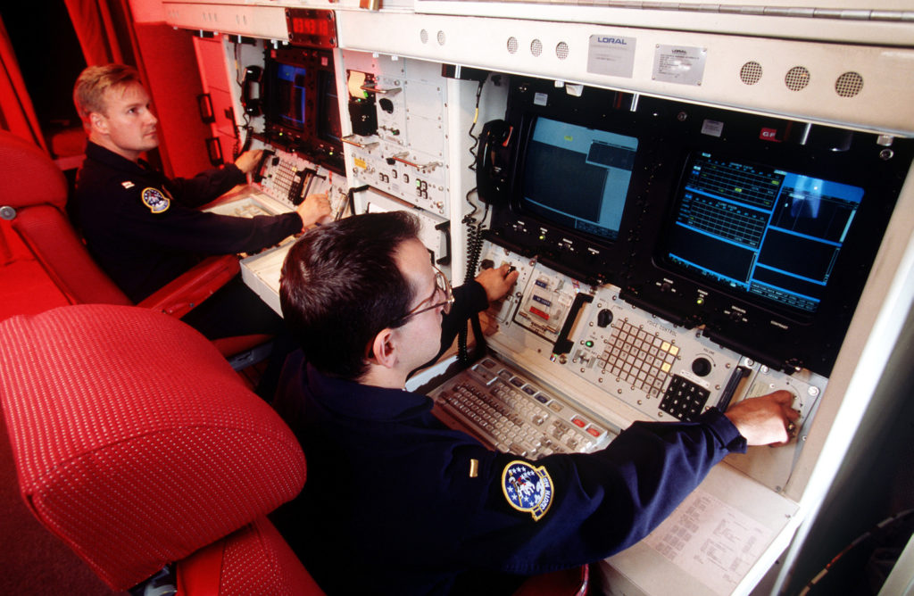 Simulate the launch of a Minuteman III using the REACT console in a Launch Control Capsule at Missile Alert Facility Hotel-1