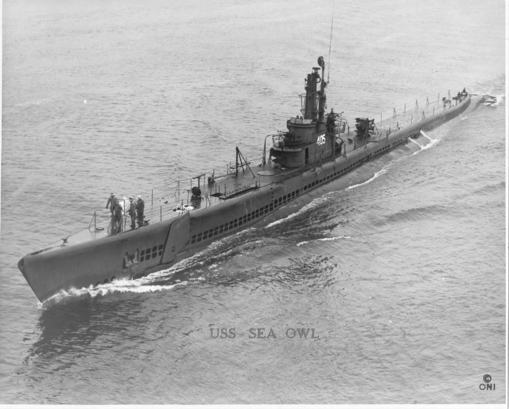 A ww2 US submarine