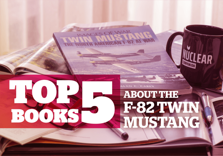 Top 5 books about the F-82 Twin Mustang