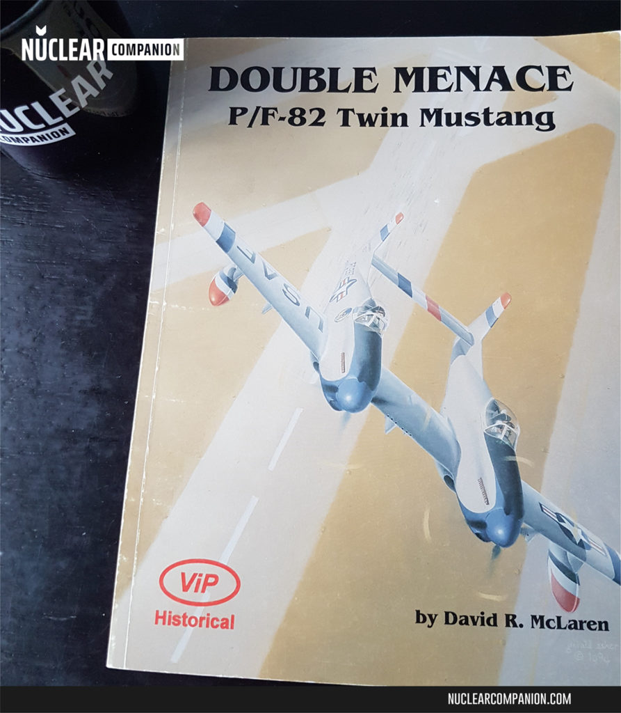 Double Menace P-82 Twin Mustang by David R. McLaren cover
