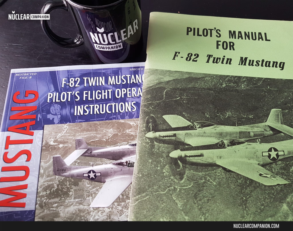 F-82 Twin Mustangs Manuals - covers
