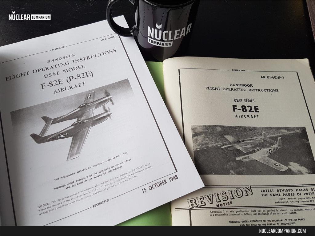 F-82E Twin Mustangs Manuals