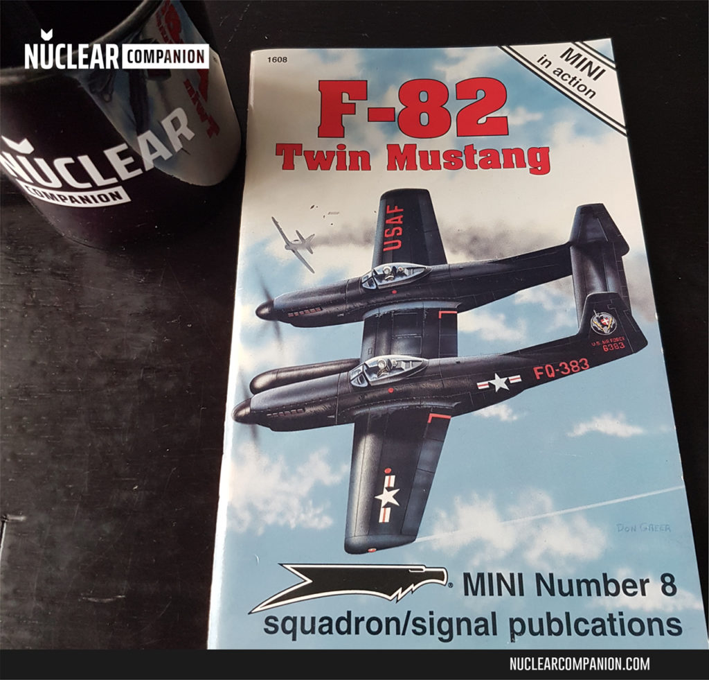 F-82 Twin Mustang (Mini in Action No. 8) by Larry Davis - cover