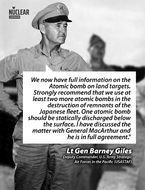 Barney giles operation crossroads quote