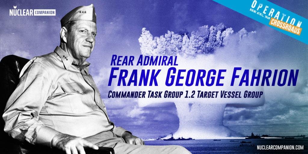 Frank George Fahrion operation crossroads
