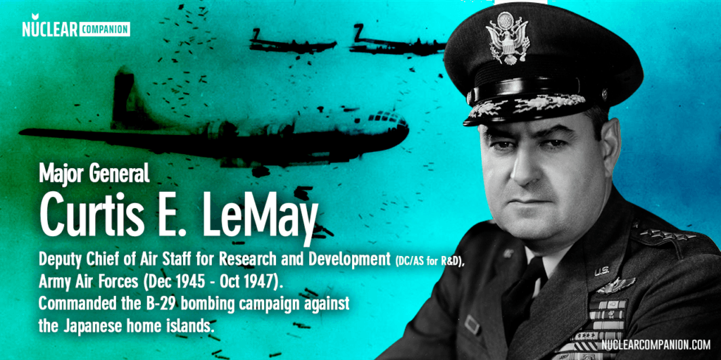 Curtis E LeMay US General