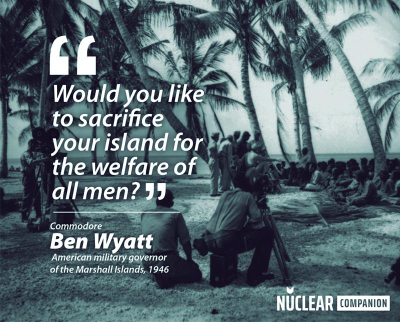 ben wyat operation crossroads sacrifice quote