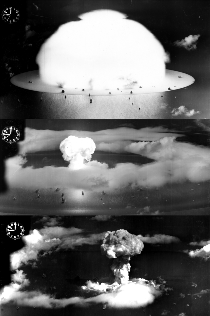 operation crossroads able shot sequence