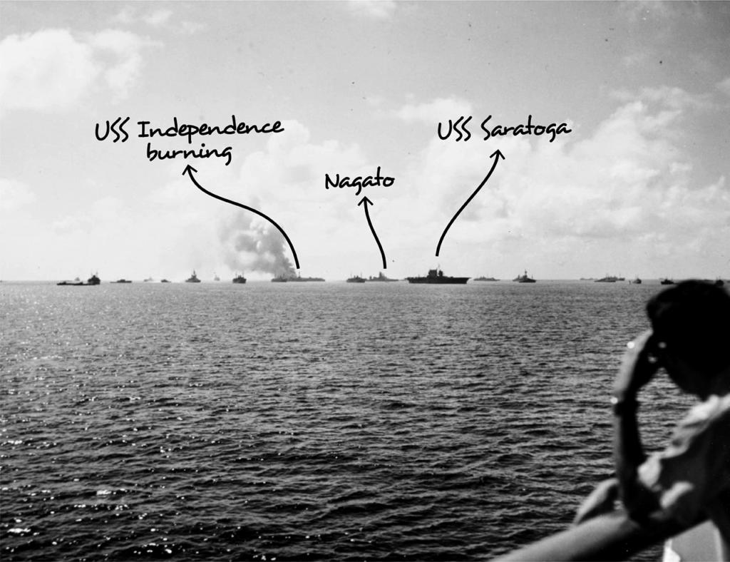 operation crossroads able shot ships damage