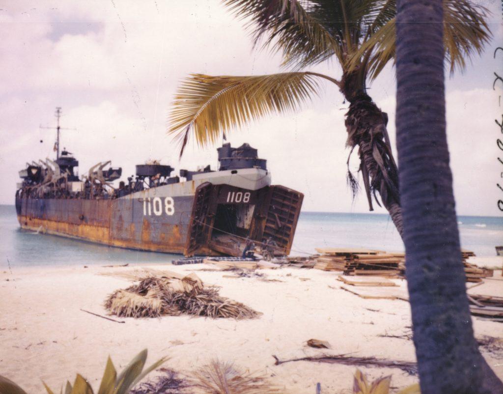 LST-1108 arrives rongerik