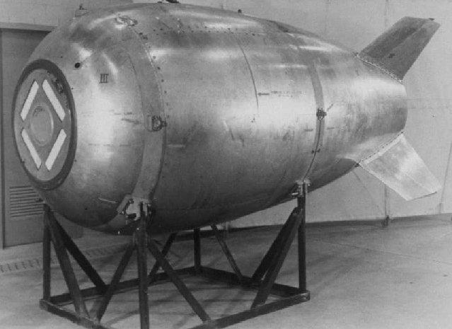 Mark IV Fatman Atomic bomb
