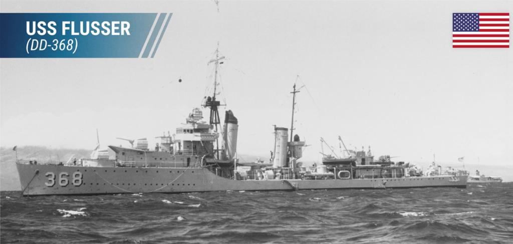 USS Flusher (DD-368)