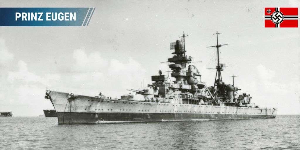 Prinz Eugen Heavy cruiser