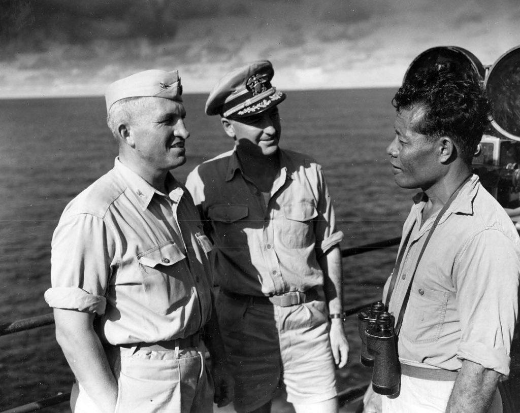 Operation crossroads King Juda baker USS Mount McKinley