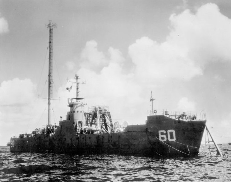 LSM-60 during operation crossroads