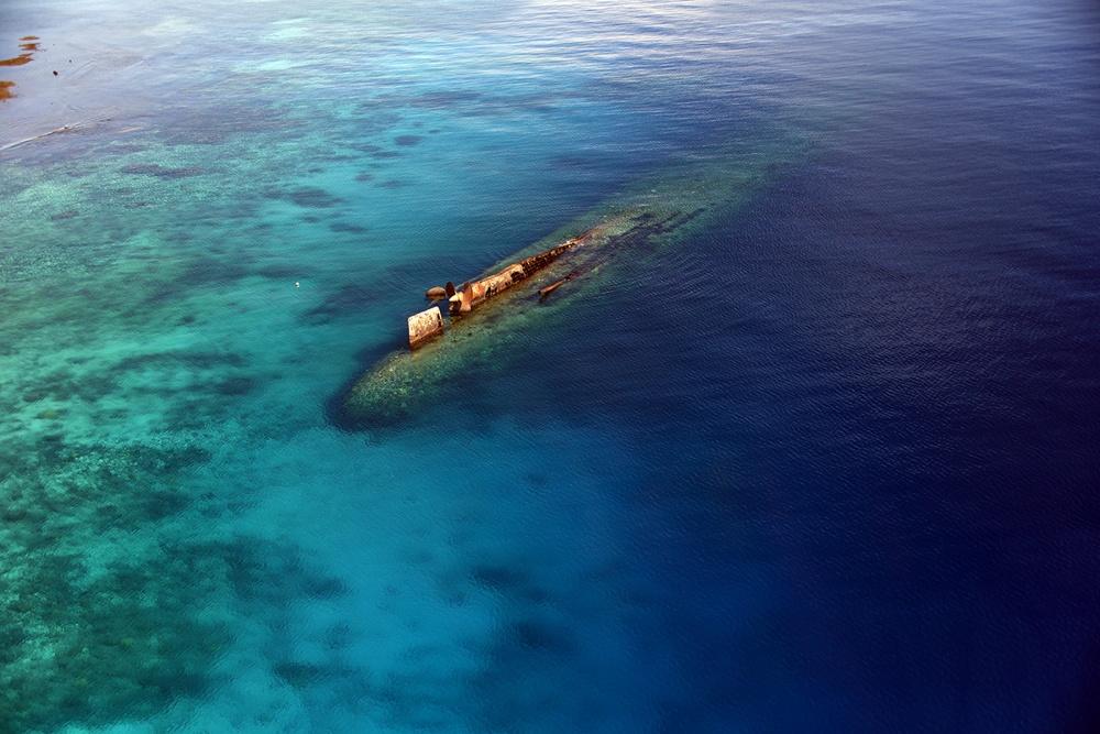 Prinz Eugen Wreck Kwajalein