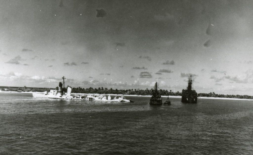 Operation crossroads USS Hughes