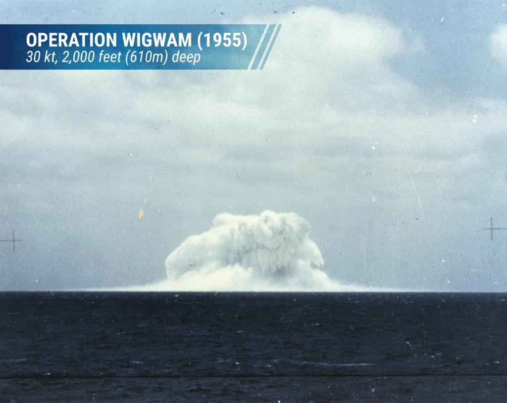 Operation Wigwan detonation