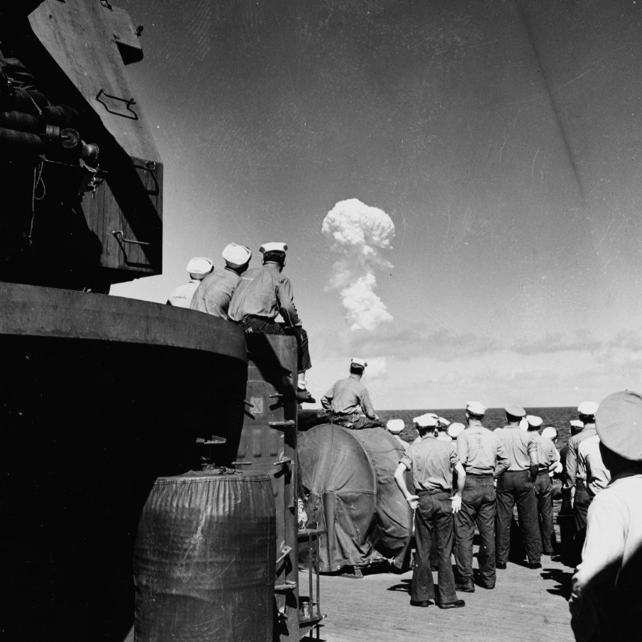 operation crossroads able cloud uss fall river