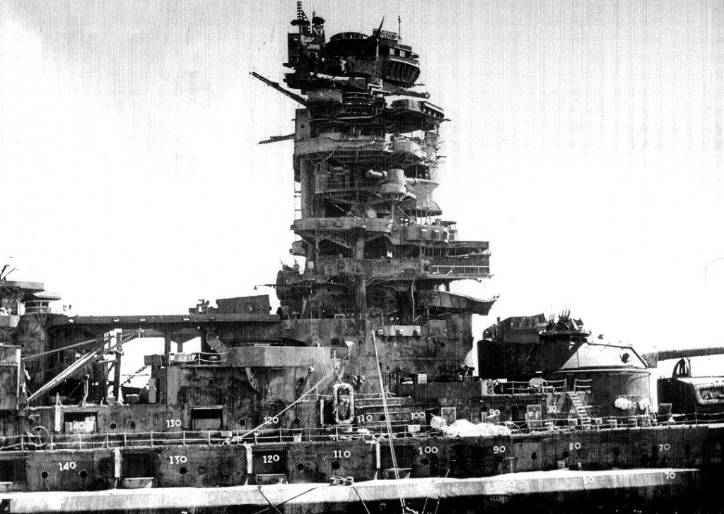 operation crossroads able shot battleship nagato blast damage