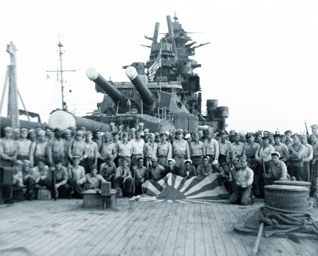 Battleship Nagato surrender 1945