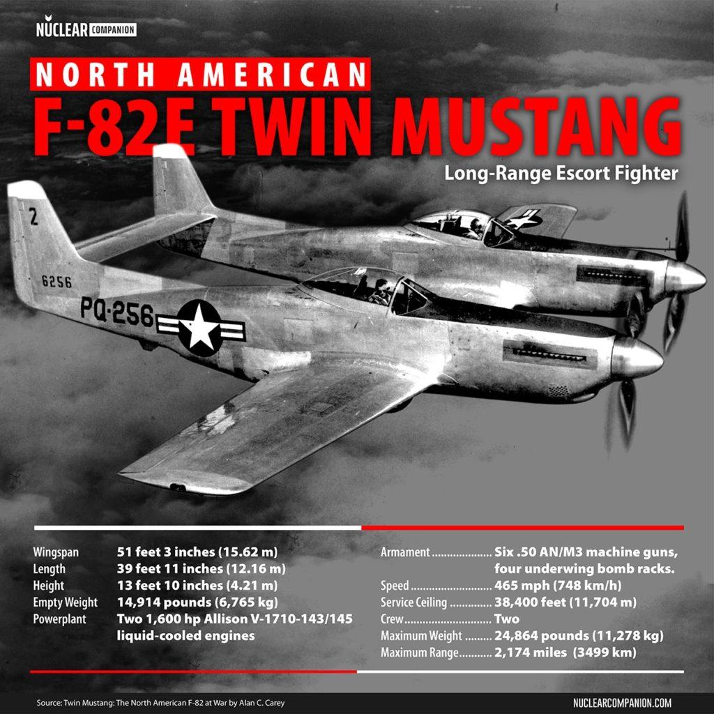 North  American F-82E Twin Mustang