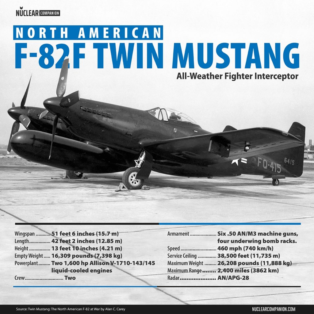 North American F-82F Twin Mustang