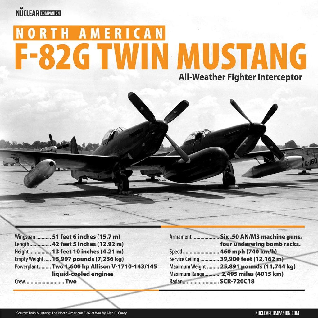 North American F-82G Twin Mustang