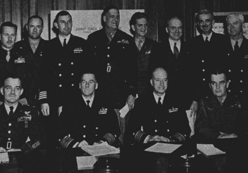 operation crossroads Joint Task Force one headquarters staff