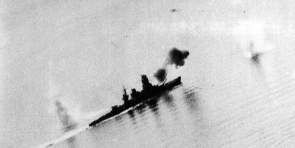 Battleship Nagato Batlle Sibuyan Sea 1944